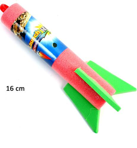 Lot de 12 Lance Fusée Mousse Catapulte16 Cm