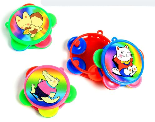 Lot de 12 Tambourin Super Mini