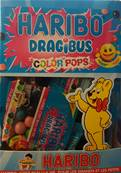 Haribo 30 Sachets Dragibus Color Pop