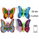 Lot de 12 Animal Mécanique Papillon 12 Cm
