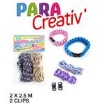 Lot de 12 Kit Bracelets Parachute 2.5Mx2 + 2Clips