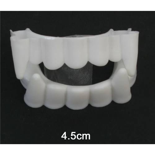 Lot de 12 Dentier Plastique Discount