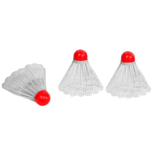 Lot de 12 Volants De Badminton