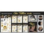 Lot de 12 Cartes Tatoos Bijou Chic