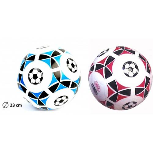 Lot de 12 Ballons De Foot Pvc Ø 23 Cm Livre A Plat En Filet