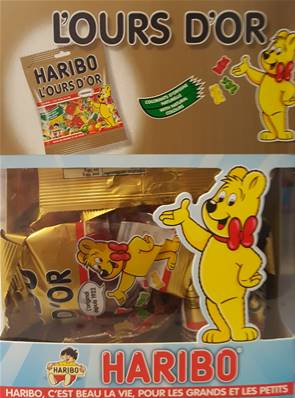 Haribo 30 Sachets Ours D'Or