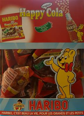 Haribo 30 Sachets Happy Cola
