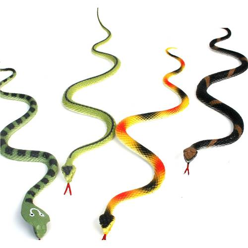 Lot de 12 Serpents 34 Cm