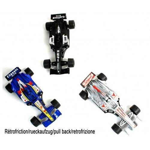 Lot de 12 Voitures De Course 12 Cm