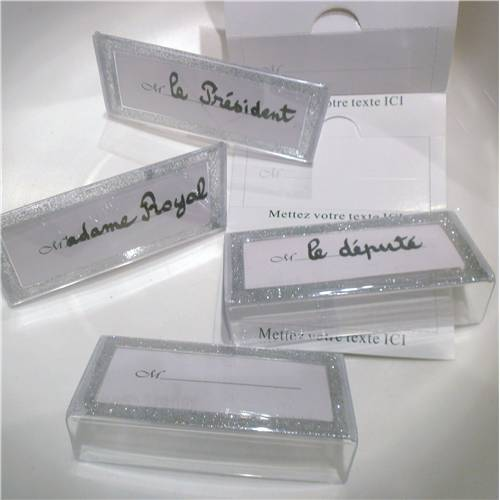 Lot de 12 Marque Place Paillette 11.5 Cm x 5.5 Cm